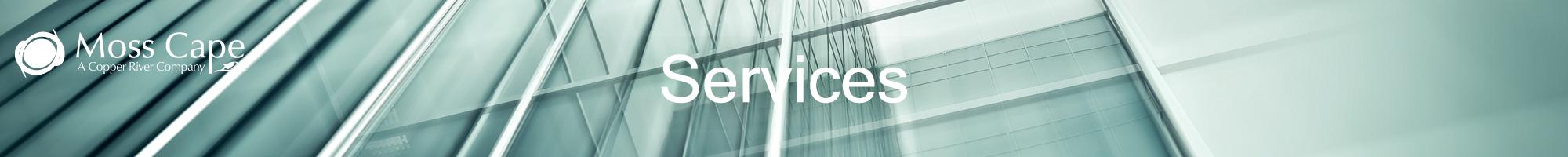 Services   Moss Cape